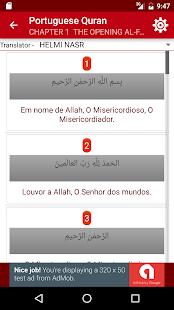 Portuguese Quran - náhled