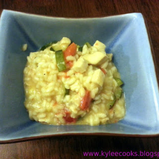 Easy Chicken & Vegetable Risotto Recipe