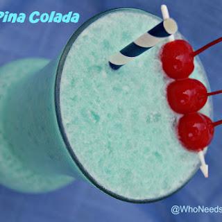 Blue Pina Colada.