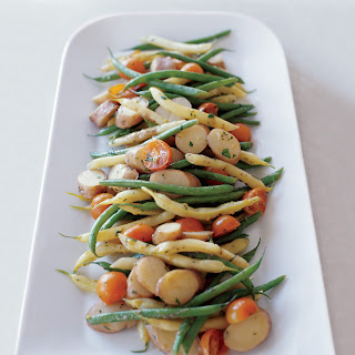 Summer Vegetable and Potato Salad with Anchovy Dressing