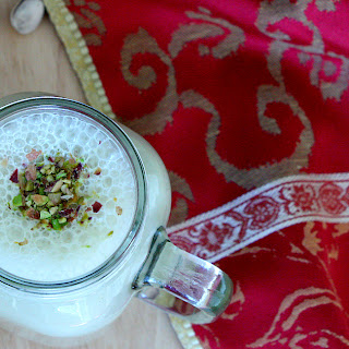 Pistachio Coconut Milk With A Royal Pinch