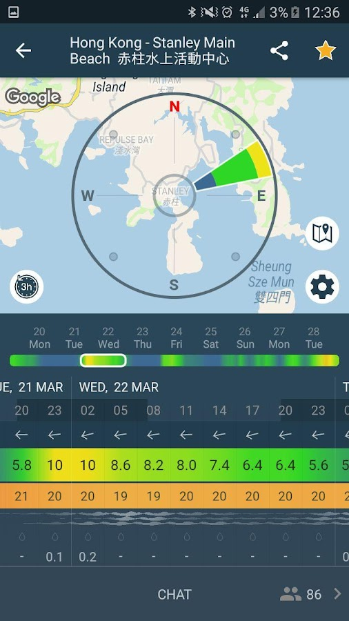 WINDY: wind forecast & marine weather for sailing- screenshot