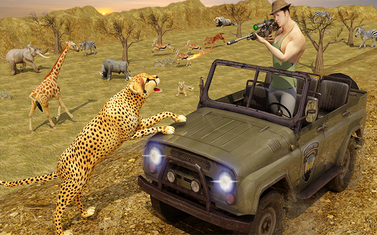 Sniper Hunter Safari Survival- screenshot