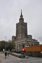 Photo: Palác kultury a vědy (PKV) v centru Varšavy.
