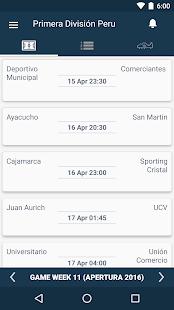 Peru Football League - Peruvian Primera División - náhled