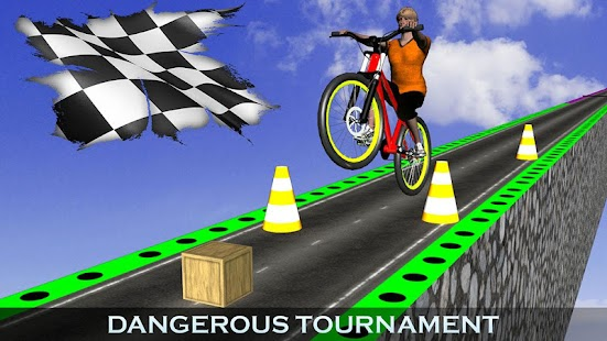 Download Impossible Bmx Stunts Racer 2017: Dangerous Tracks For PC Windows and Mac apk screenshot 4