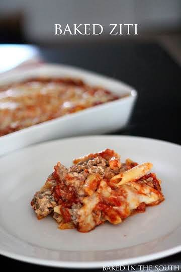 Pioneer Woman's Baked Ziti – Baked in the South