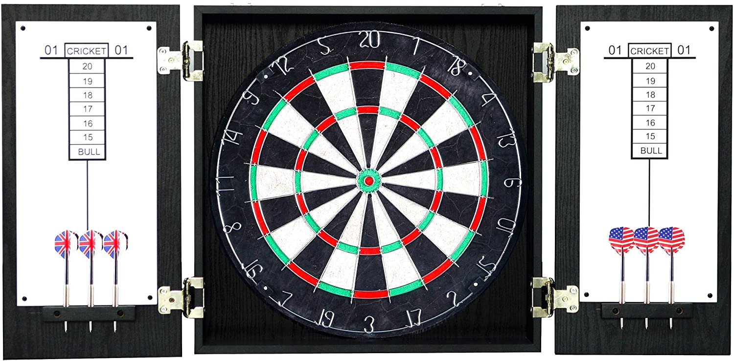 top rated dart board cabinet