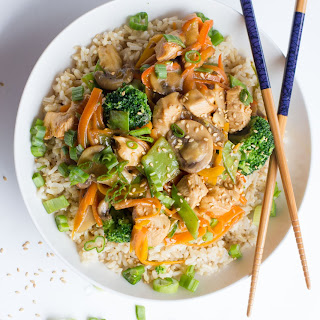 Healthy Chicken Stir Fry.