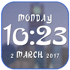 Arabic digital clock icon