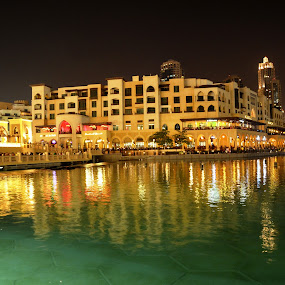 Souk Al-Bahar @ Night by Braggart Reigh - Buildings & Architecture Other Exteriors ( buildings, architectural details, public, hotels )