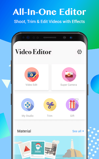 Video Editor,Free Video Maker with Music&Effects for PC