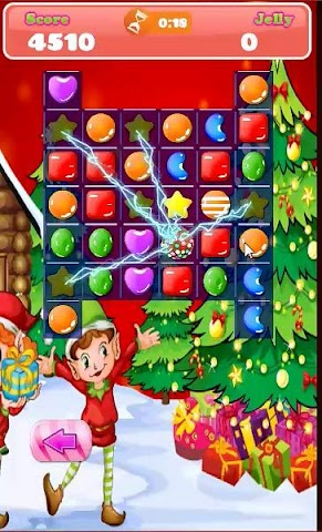 android Candy Match Hero: Xmas Session Screenshot 3