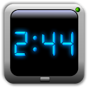 AdyClock - Night clock, alarm icon