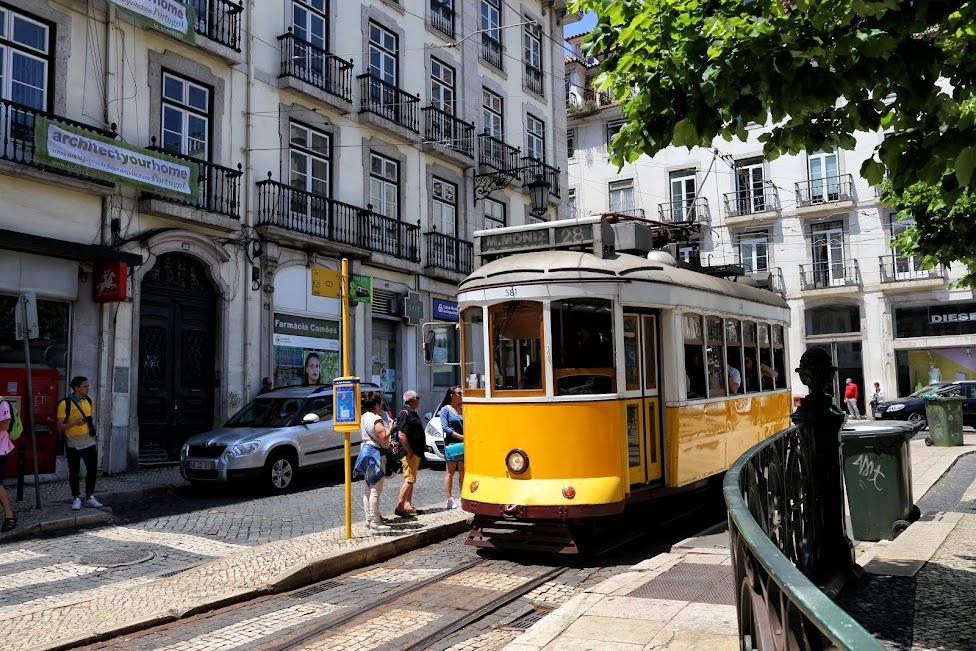 Lizbona, tramwaj, tramwaj w Lizbonie