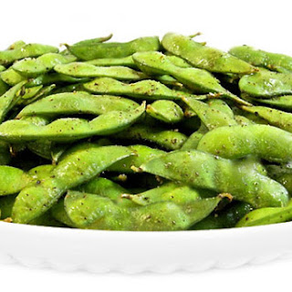 Roasted Edamame…Perfect for an Light Appetizer or Snack.