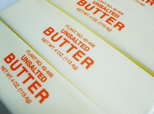 Melt your stick of butter in a saucepan and add the remainder of the...