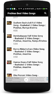 Prabhas Best Video Songs - náhled
