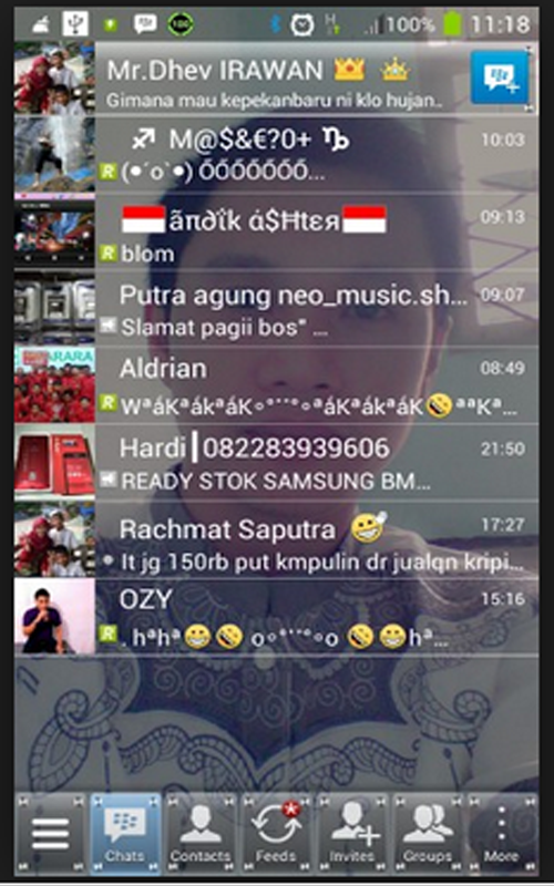 Screenshots of Whats Chat App Transparent for Android