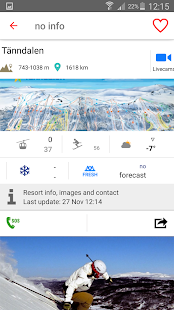 iSKI Sverige - Ski, Snow, Info resort, Gps Tracker- screenshot thumbnail