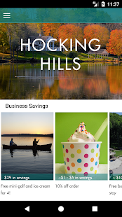 The Official Hocking Hills App- screenshot thumbnail