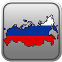 Map of Russia icon