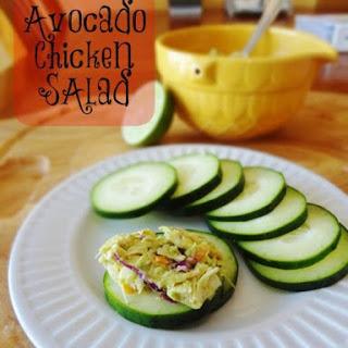 Avocado Chicken Salad (Mayo Free).