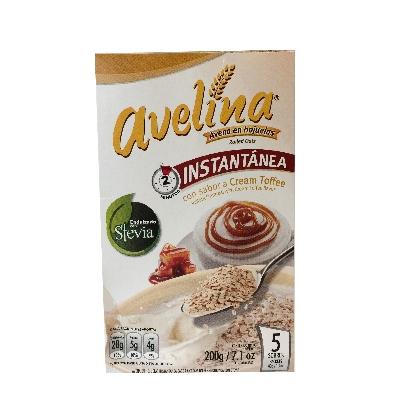 cereal avelina cream toffee avena instantanea 200gr