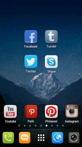 GO Launcher EX UI5.0 theme screenshot 2