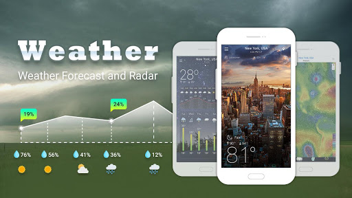 Weather app for PC