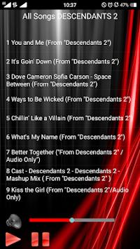All Songs Descendants  Poster All Songs Descendants  Poster