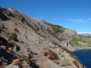 Photo: versante orientale del crinale di San Costanzo, da Rezzale