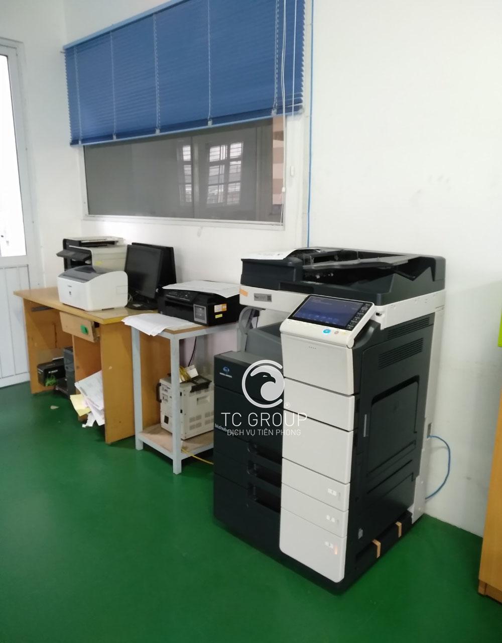Cho thuê máy photocopy thông minh