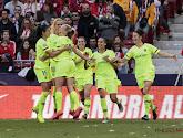 Olympique Lyon, FC Barcelona, Chelsea en Bayern München plaatsen zich voor halve finale Champions League
