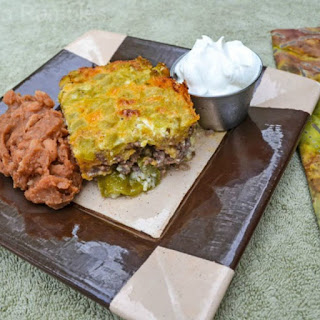 Gluten Free Roasted Green Chili Casserole