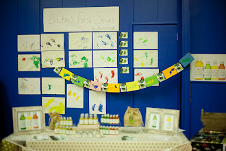 Photo: Baby's first steps for Fairtrade at Red Jelly nursery, Hove