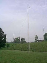 Photo: 40 Mtr 1/4 Wave Vertical at WB9OTX