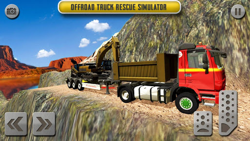 Sand Excavator Truck Driving Rescue Simulator game 4.2 de.gamequotes.net 5