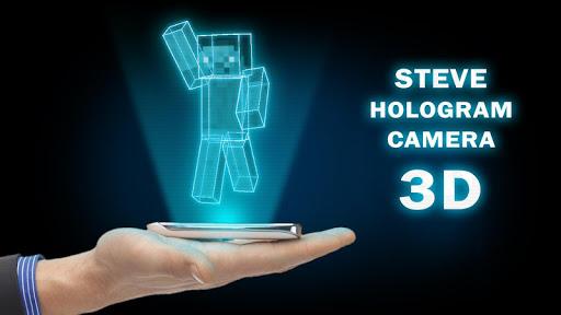 Steve Hologram Camera 3D