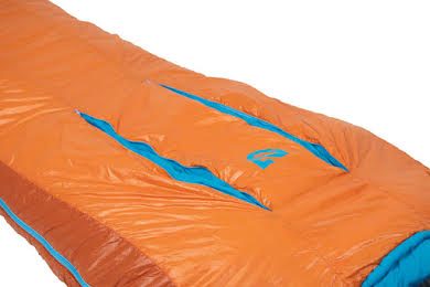 NEMO Kyan 35 Sleeping Bag, Primaloft Silver Synthetic Insulation: Regular, Amber/Alpine alternate image 3