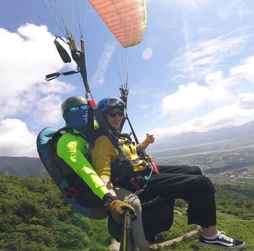 路野高台翱翔飛行傘第一起飛場