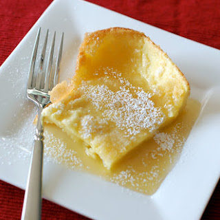 German Pancakes with Buttermilk Syrup