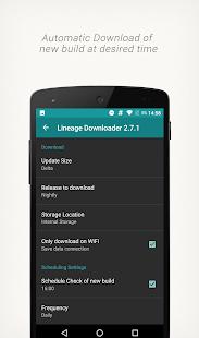 Lineage Downloader - náhled