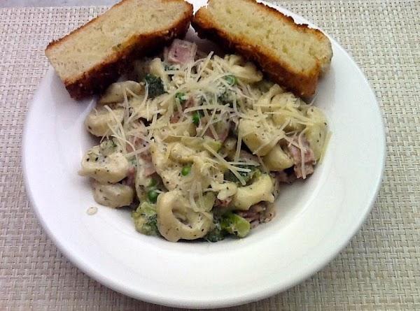 Ham And Tortellini Skillet Recipe