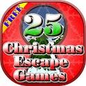 Christmas Escape Games - 25 Games icon