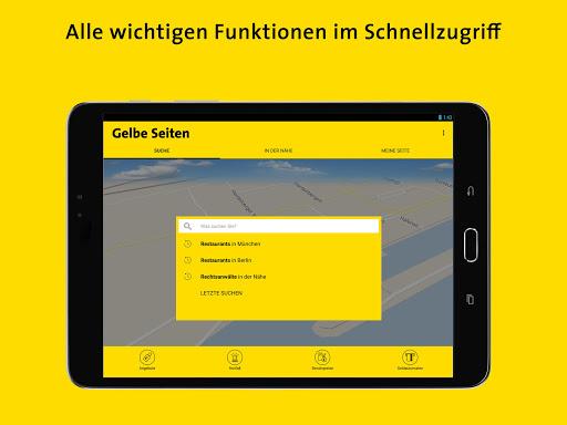 Gelbe Seiten - Auskunft und mobiles Branchenbuch 6.16-0381813b0 screenshots 9