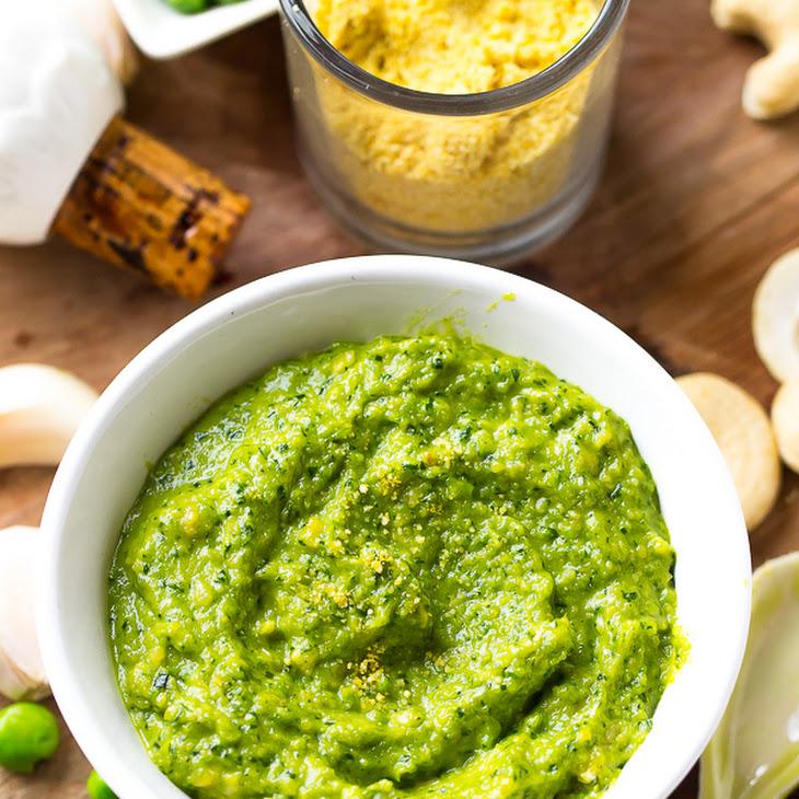 Creamy Cashew Pea Pesto Recipe
