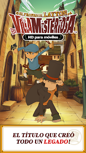 Layton: la villa misteriosa HD Screenshot
