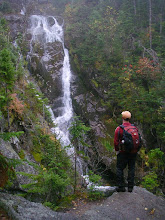 Photo: Big cascade at The Gorge in upper Ammonoosuc Ravine.