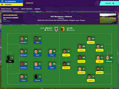 Football Manager 2020 Touch  Apk Download For Android and Iphone 8